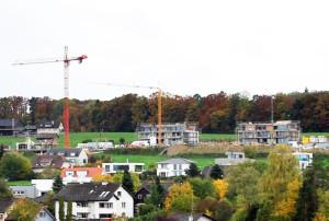 In Kreuzlingen wir immer noch viel gebaut. (Bild: kb)