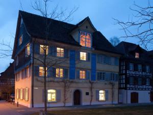 Das kleine Literaturhaus in Gottlieben. (Bild: zvg)