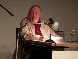 Ingrid Riedel liest ihre Gedichte (Bild: zvg).