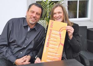 Programmleiter Micky Altdorf und Projektleiterin Siegrun Nuber. (Bild: kb)