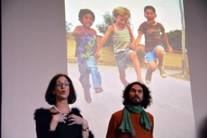 Dana Rufener, Lehrerin an der KSK, und ihr Schwager Mathieu Glayre.(Bild: zvg)
