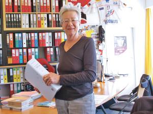 Sieht ihre neue Heimat bei der SVP: Barbara Hummel. (Bild: sb)