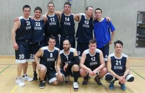 Das Herrenteam des STV Basket Kreuzlingen. (Bild: zvg)