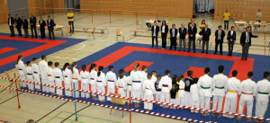 Karatemeisterschaft-Frauenf
