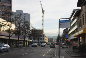 In der Konstanzerstrasse in Kreuzlingen haben sich neue Geschäfte angesiedelt. (Bild: Thomas Martens)