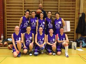Die Damenmannschaft des STV Basket Kreuzlingen. (Bild: zvg)