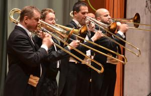 Blechbläser der Südwestdeutschen Philharmonie Konstanz. (Bild: zvg)