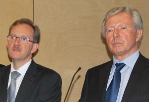 Was wussten Klinik-Geschäftsführer Martin Costa (links) sowie Dierk Maass, Ärztlicher Direktor und Präsident des Verwaltungsrates? (Bild: Thomas Martens)