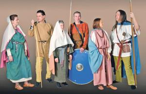Auch die frühmittelalterliche Mode wird gezeigt. (Bild: zvg)