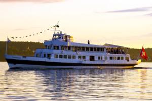 Ein Schiff der SBS-Flotte. (Bild: SBS Schifffahrt AG)