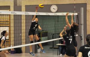 Die Kreuzlinger Volleyball-Damen sind zurzeit Spitze. (Bild: zvg)