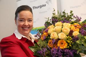 Die neu gewählte Thurgauer Regierungsrätin Carmen Haag. (Bild: zvg)