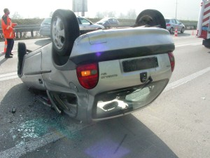 Die Lenkerin des Unfallwagens wurde nur leicht verletzt.(Bild: Kapo TG)