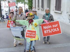 Gegen BTS/OLS gibt es viel Widerstand in der Thurgauer Bevölkerung. (Bild: Archiv)