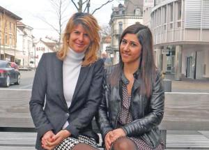 Nathalie Quiquerez und Concetta Critelli vom BPW Kreuzlingen freuen sich auf den Anlass. (Bild: zvg)