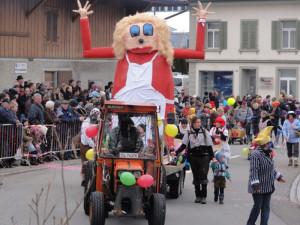 Fasnacht in Wigoltingen, immer ein grosses Spektakel. (Bild: zvg)