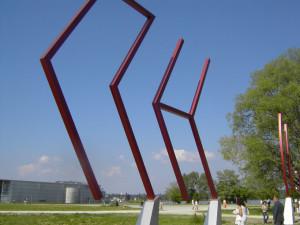 Die Kunstgrenze. (Bild: zvg)