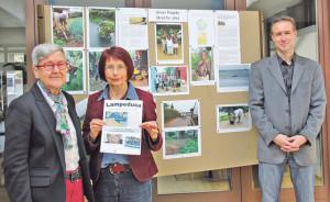 Stellen ihre ökumenische Kampagne vor: Susanne Dschulnigg, Elisabeth Hofmann und Pfarrer Gunnar Brendler. (Bild: ek)