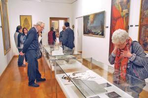 Die Gäste konnten sich im neu eingerichteten Museum umsehen. (Bild: kb)