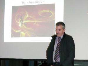 Vom Amt für Berufsbildung überbrachte Franz Knupp seine Grüsse als Gastredner. (Bild: zvg)