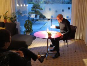 Lesung mit Ralf Beckord aus dem vergangenen Jahr. (Bild: zvg)