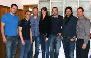 Der Vorstand v.l.: Marc Baumann, Hannes Nüesch, Andreas Schreiber, Nina Schmutz, Michael Krautter, Rico Lauper und Daniel Bär. (Bild: zvg)