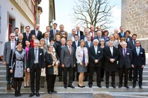 Die Mitglieder der Parlamentarier-Konferenz Bodensee in Appenzell. (Bild: zvg)
