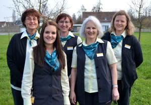 Das Team der neuen Poststelle Scherzingen. (Bild: zvg)
