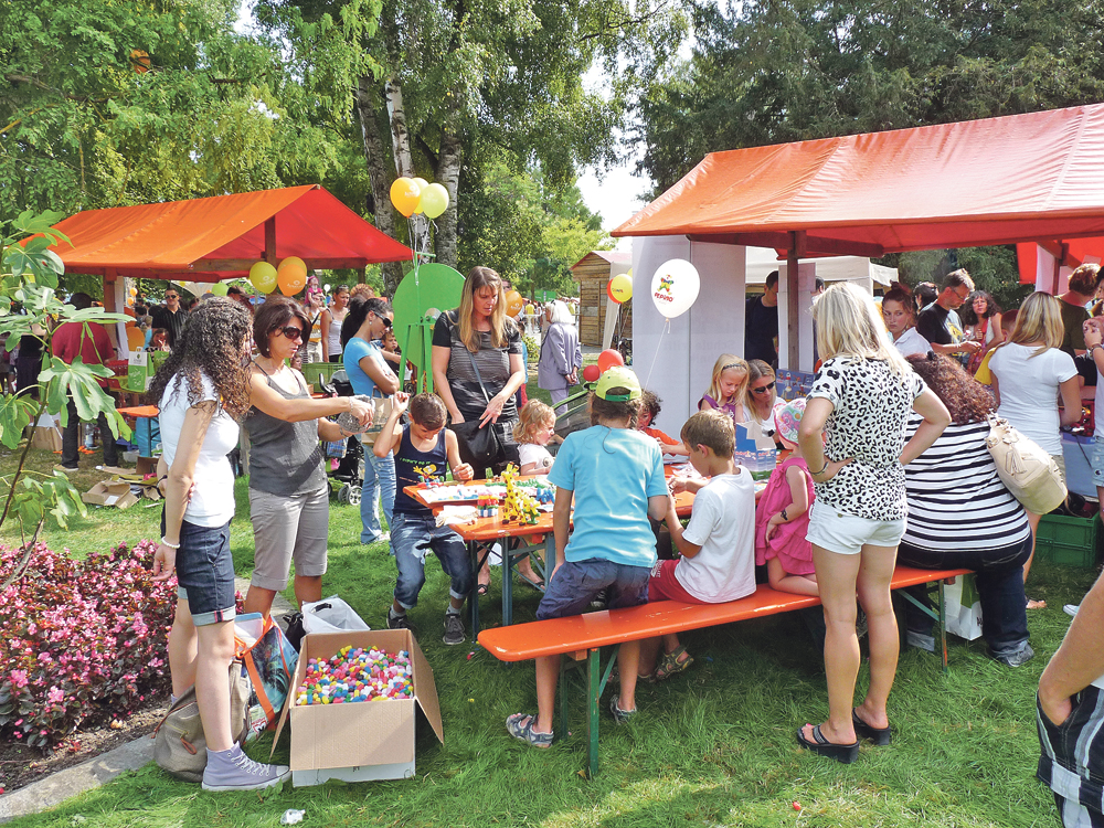 Das Kinderfest in Konstanz bietet jede Menge Spass, auch für Kinder aus Kreuzlingen.(Bild: Marc Diez-Prida)