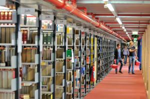 Die Bibliothek der Uni Konstanz. (Bild: Jespah Holthof/Uni Konstanz)