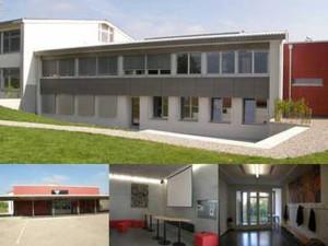 Das Sekundarschulhaus Alterswilen nach der Renovation. (Bild: zvg)