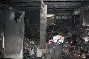 Gemäss ersten Erkenntnissen der Kantonspolizei Thurgau ist der Brand im Keller des Hauses ausgebrochen. (Bild: ek)