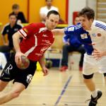 Oliver Schoof für den HSC am Ball. (Bild: Gaccioli)