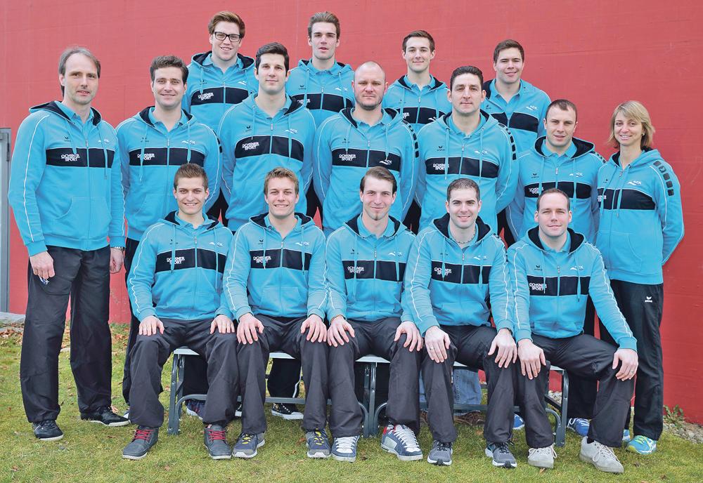 Mit dieser Mannschaft geht der SC Kreuzlingen diese Saison an den Start. (Bild: Mario Gaccioli)