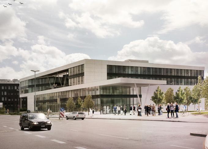 So könnte das neue Veranstaltungshaus am Seerhein aussehen. (Bild: krehl.girke architekten)