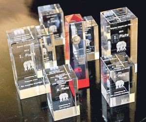 Die Auszeichnungen häufen sich in der Filiale.(Bild: zvg)