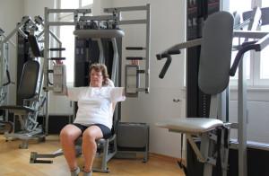 Frauen haben neben dem gesundheitlichen auch den ästhetischen Nutzen des Krafttrainings für sich entdeckt. (Bild: ek)