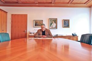 Gemeindeammann Markus Thalmann will den «Dörfligeist» bewahren. (Bild: ek)