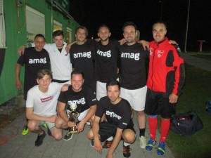 So sehen Sieger aus: Das Team der AMAG Ag. (Bild: zvg)
