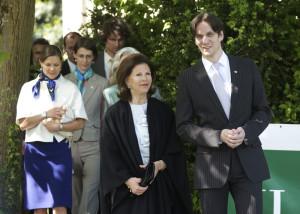 2009 besuchte Königin Silvia letztmals die Mainau. (Bild: Insel Mainau)