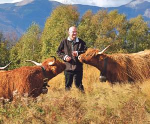 Guido Leutenegger hat viel über den Seeburgpark zu erzählen. (Bild: zvg)