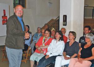 Der Vortrag von Guido Leutenegger war sehr gut besucht.(Bild: Thomas Martens)