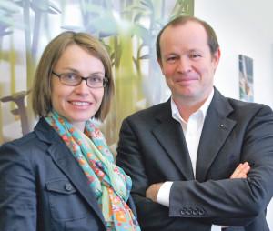 Martina und Thomas Weihrich. (Bild: Archiv)