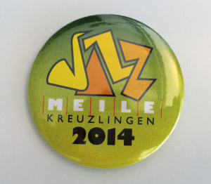 JazzMeilen-Button 2014. (Bild: zvg)