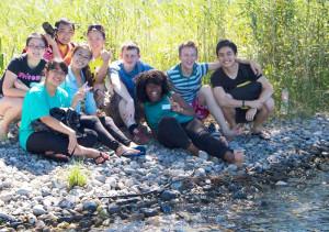 Jugendliche aus ganz Europa gefällt es in Tägerwilen. (Bild: zvg)