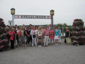 Delegierte im Kreuzlinger Hafen. (Bild: zvg)