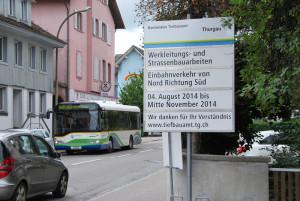 Die Konstanzerstrasse. (Bild: Thomas Martens)
