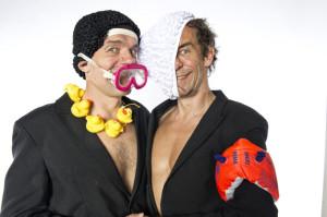 Die Komiker-Brüder. (Bild: zvg)