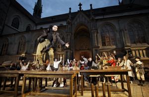 Das neue Freilufttheaterstück in Konstanz widmet sich der Konzilszeit. (Bild: Ilja mess).