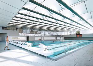 So soll das 50 Meter-Schwimmbecken aussehen. (Bild: Archiv)